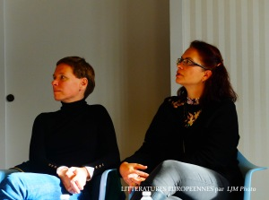Jana Benova & interpreter Diana Jamborova-Lemay